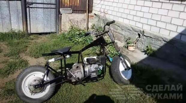 Мотоцикл-вездеход своими руками
