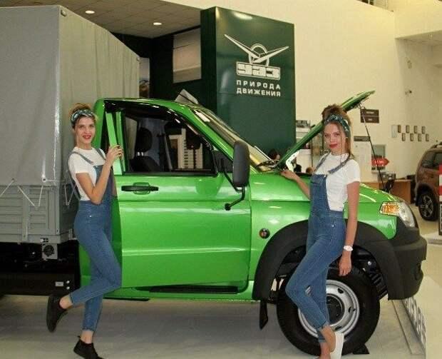 Автомобили УАЗ получат «иномарочную» опцию
