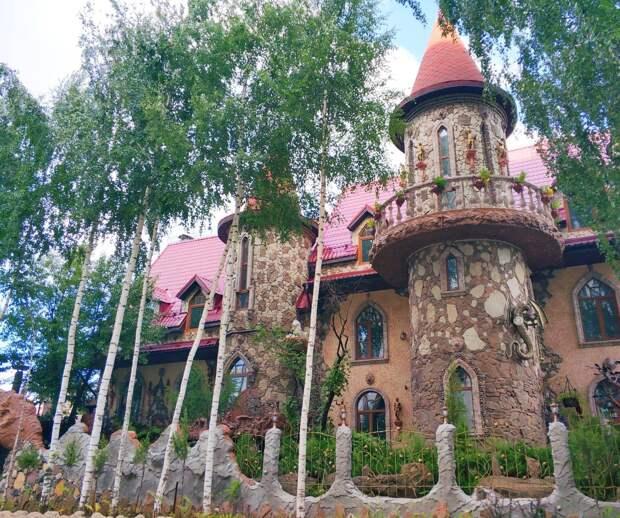 Хозяина «дома с башенками» в Ижевске не заставят вырубать высаженные деревья