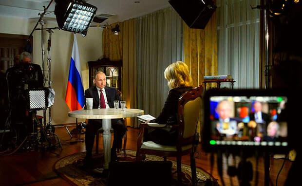 """Иностранцы поразились наглостью канала NBC вырезавшего из интервью все ключевые фразы Путина: """"что это за фарс?"""""""