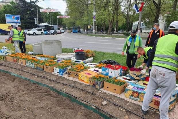 Площадь Куйбышева в Симферополе приведут в порядок в следующем году