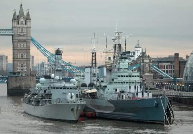 Британия передаст Украине военные корабли и ракетное вооружение