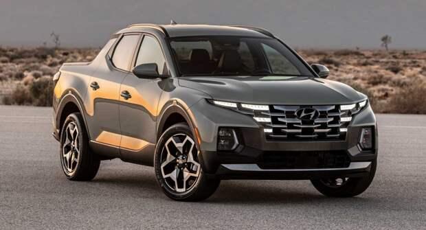 Представлен Hyundai Santa Cruz 2022 года с маленькими пропорциями и новым стилем