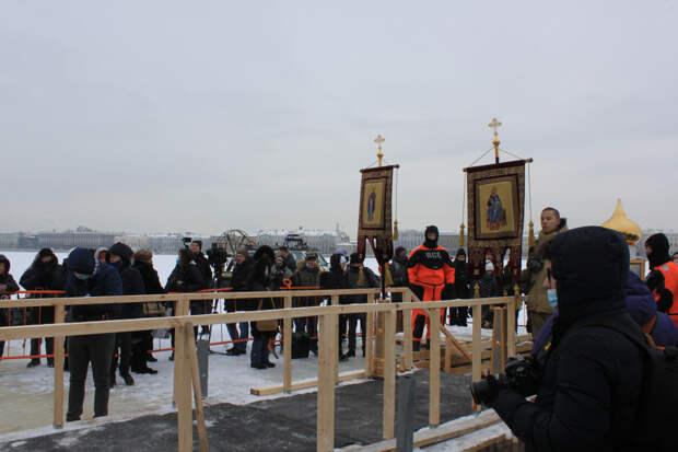 Прогулка по Петербургу в день Крещения