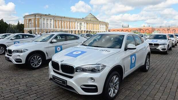 Российские олимпийцы получат автомобили BMW x5 и x3