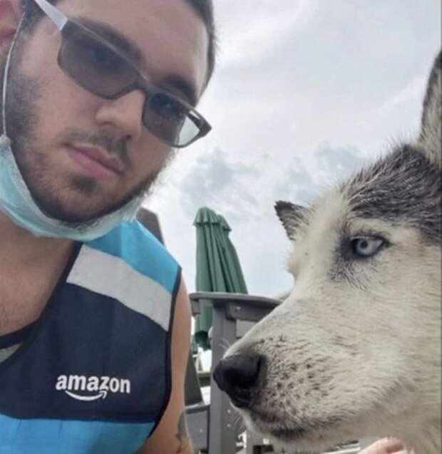 фотография Кассабрии с псом