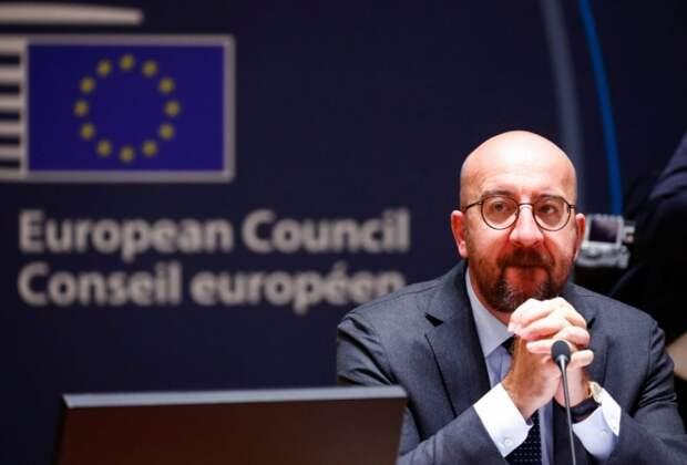 Председатель Европейского совета Шарль Мишель на саммите ЕС