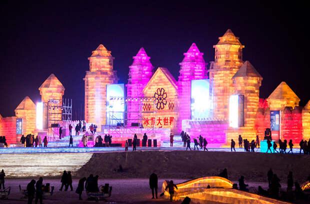 Фестиваль снега в Харбине - 2