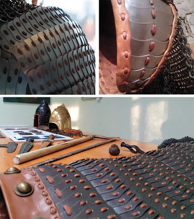 Предметная научно-историческая реконструкция доспеха аварского (жужаньского) воина VI – начала VII в.