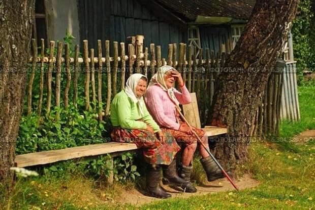 Жили-были две старухи