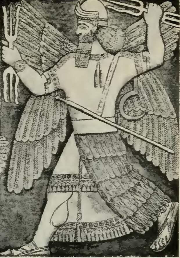 Шумерский (и Вавилонский) бог Мардук (изображение из открытого доступа)
