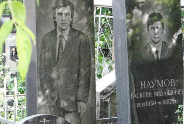 Могилы братьев Наумовых