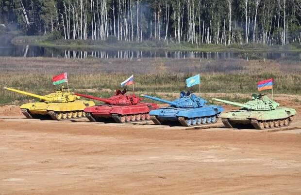Западные СМИ в восторге от танкового биатлона: это победа России над США