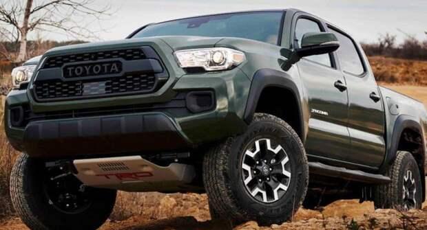 Toyota представила заводской лифт-комплект для пикапа Tacoma