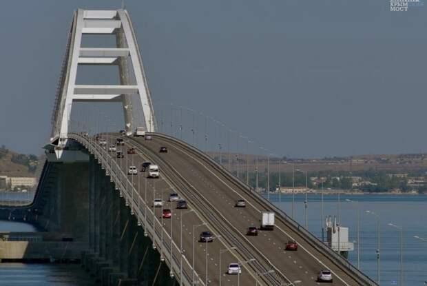 На Крымском мосту будут контролировать въезжающих на полуостров