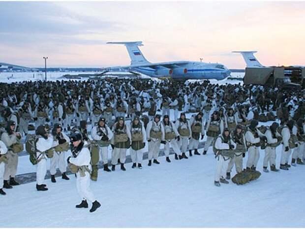 Российские военные в Арктике. Источник изображения: https://vk.com/denis_siniy