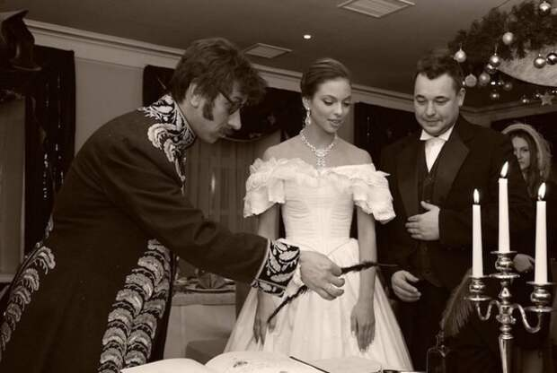 Свадьба Сергея Жукова и Регины Бурд. / Фото: www.uenews.ru