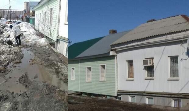 Вцентре Оренбурга люди стали «заложниками» аварийного дома