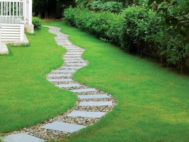Дорожки в саду – красота или функция?