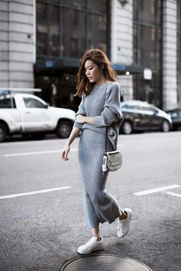 Серый Street Style