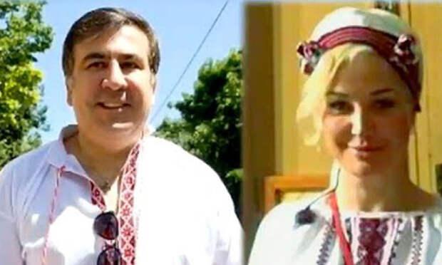 Вскрылись подробности тайных отношений Максаковой и Саакашвили