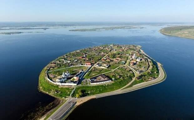 Остров Свияжск - неприступный форпост России с трагической историей