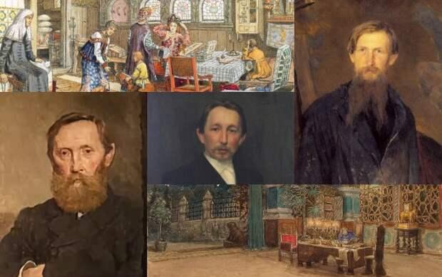 Как знаменитый художник Васнецов и его братья создавали сказочную мебель для русских теремов