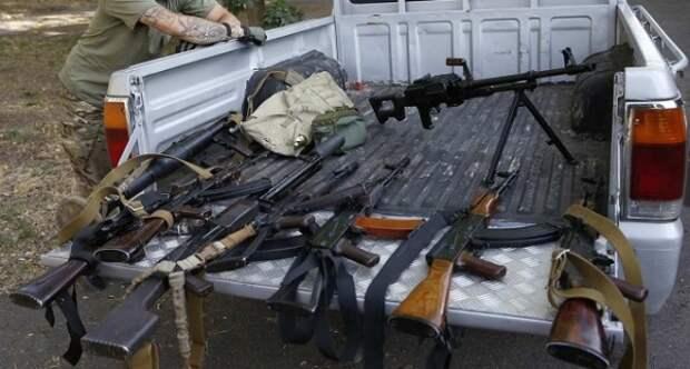 ДНР: ВСУ наДонбассе наладили продажу оружия преступным группировкам