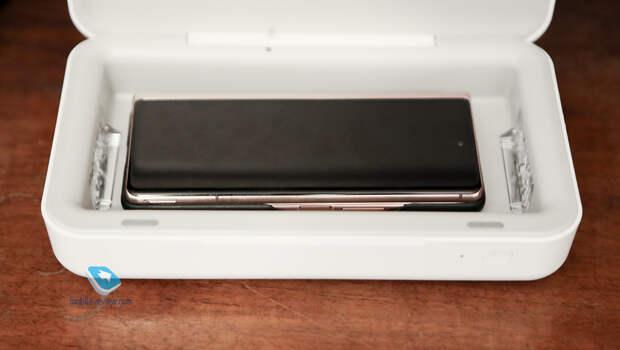 Портативный ультрафиолетовый стерилизатор Samsung – для смартфона и не только