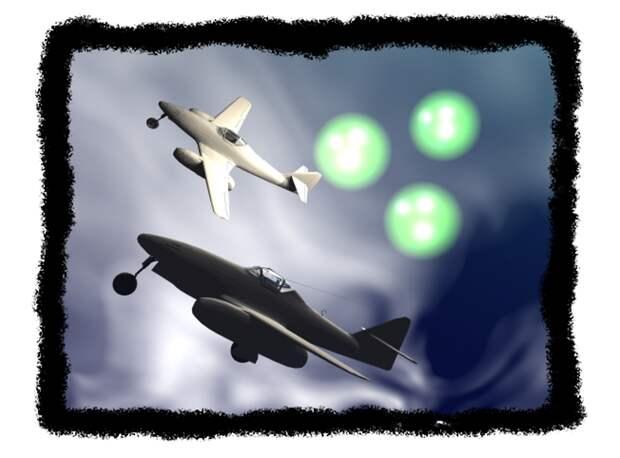 НЛО военного времени. Секрет цветных шаров