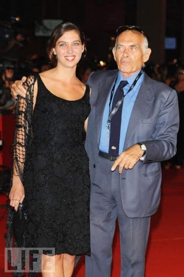 Паскуале Скуитьери с дочерью Клаудией