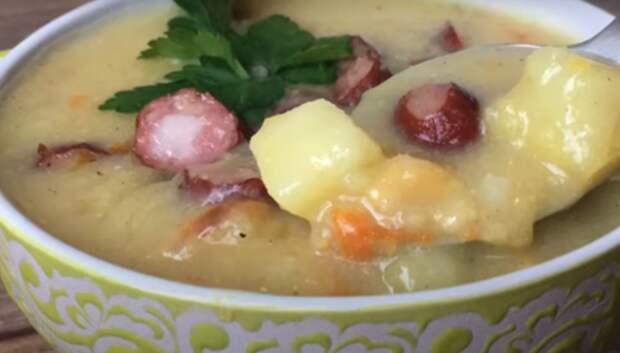 Гороховый суп — вкусно и просто