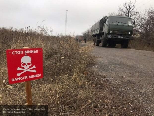 Украина отказалась согласовывать новые пункты разведения войск в Донбассе