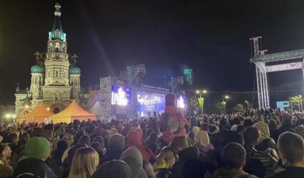 Затяжное празднование Дня города вОмске прошло без происшествий