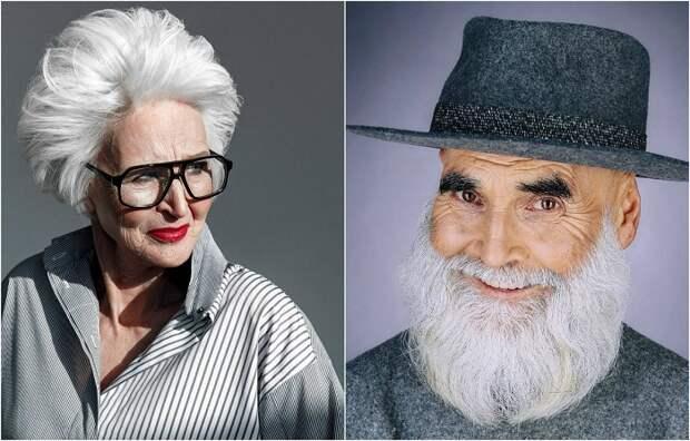 «Олдушка»: Российский фотограф доказал, что и после 60 люди могут оставаться стильными и привлекательными