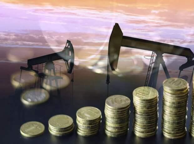 нефть, рубль