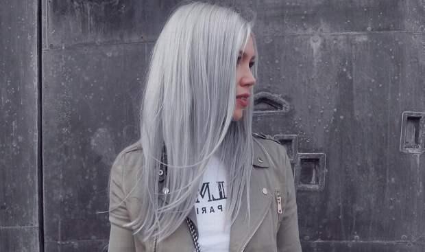 Причины раннего поседения волос