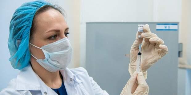 В поликлинике №19 в Марьине начнут массовую вакцинацию от коронавируса