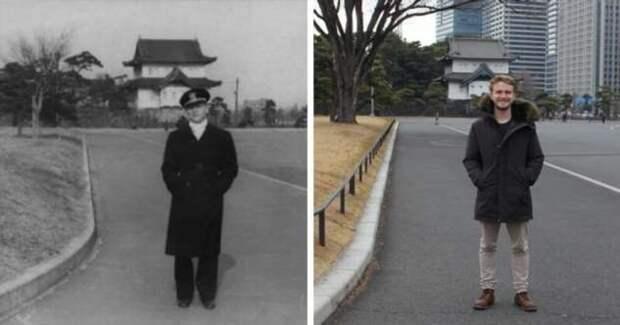 16 фото от людей, которые воссоздали интересные кадры из прошлого (18 фото)