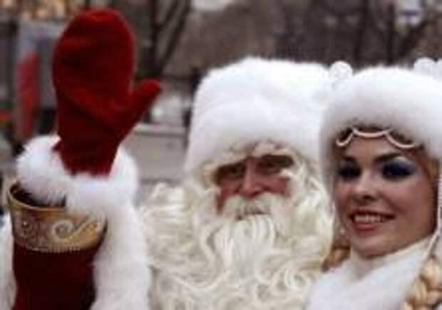 День рождения Деда Мороза в Москве