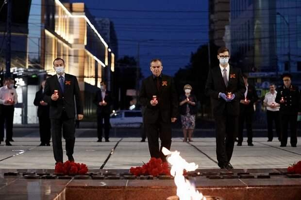 На Кубани почтили память погибших в годы Великой Отечественной войны