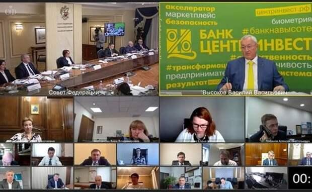 Ростовский банк «Центр-инвест» представил модель ESG-банкинга в Совфеде