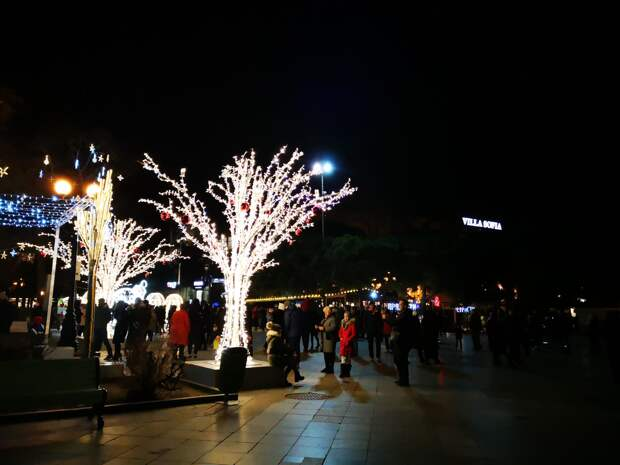 Власти Ялты устроили опрос: Нужна ли городу новогодняя подсветка