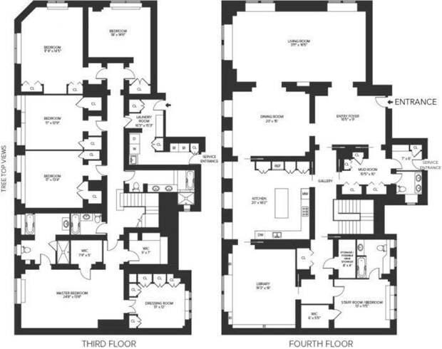 Как выглядит квартира Брюса Уиллиса  брюс уиллис, жильё, квартира