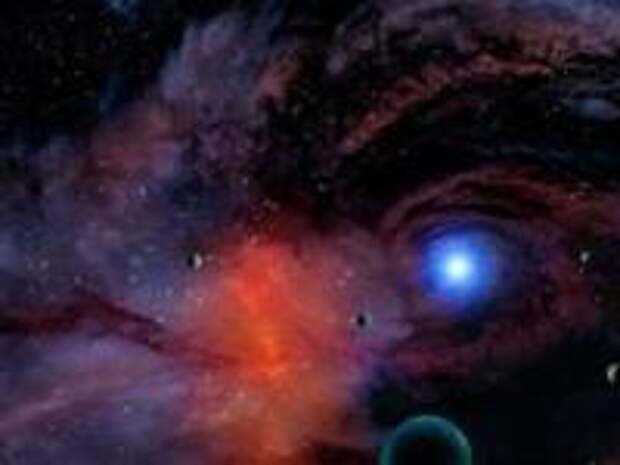 Вселенная - это чье-то тело?