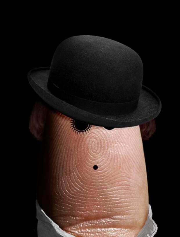 Фингер-арт: портреты на пальцах