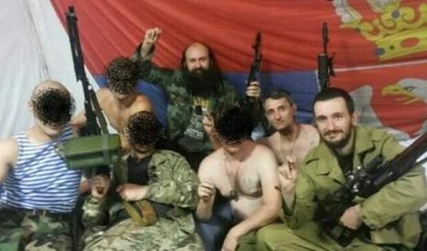 К сербскому отряду в Донецке прибыло подкрепление