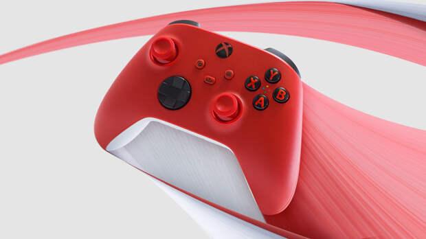 Microsoft анонсировала выход нового геймпада для консоли Xbox Series в красном цвете