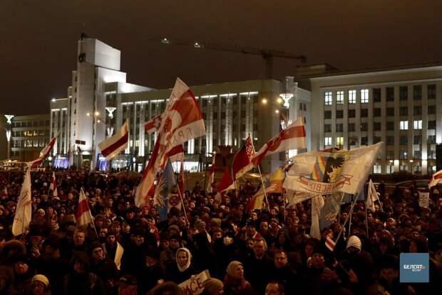 Подноготная рвущихся к власти в Белоруссии