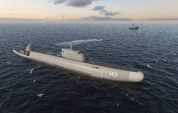 В России представили проект ныряющего корабля BOSS